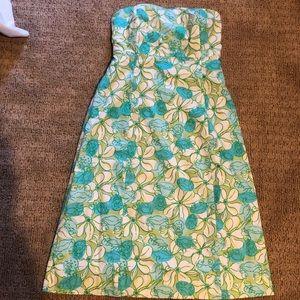 Strapless Lilly dress, size 12